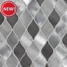 New! Naxos Lantern Aluminum Metallic Mosaic