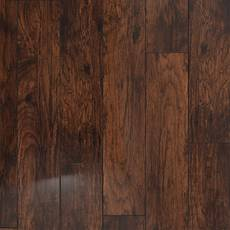 Coffee Hickory Hand Scraped Water Resistant Laminate