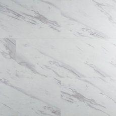 Volakas Marble Rigid Core Luxury Vinyl Plank - Foam Back