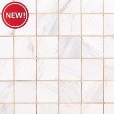 New! Cesari Bianca III Polished Porcelain Mosaic