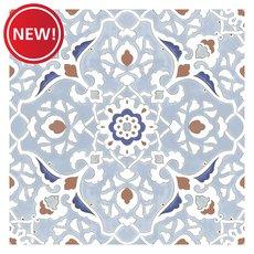 New! Mercado Blue Porcelain Tile