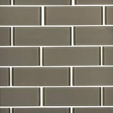 Wool II 2 x 6 in. Brick Glass Mosaic