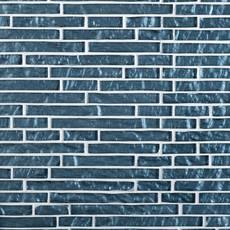 Dream Vesper Blue Linear Glass Mosaic