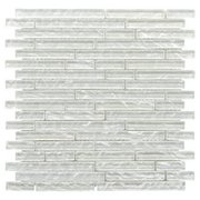 Dream Chiffon Linear Glass Mosaic