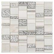 Parana Light Pattern II Glass Mosaic