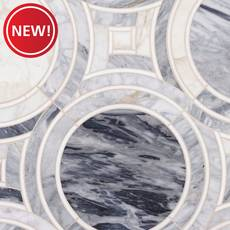 New! Palais Cala Blue Waterjet Mosaic