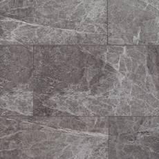 Stone Grey Marble Rigid Core Luxury Vinyl Tile - Foam Back