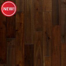New! Palm Leaf II Acacia Distressed Solid Hardwood