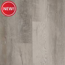 New! Highland White Rigid Core Luxury Vinyl Plank - Foam Back