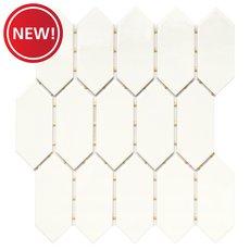 New! Renova Picket Ceramic Mosaic