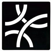 Schluter Kerdi-Drain 4in. Grate Matte Black Curve