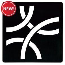 New! Schluter Kerdi-Drain 4in. Grate Matte Black Curve