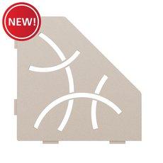 New! Schluter Shelf Pentagonal Corner Curve Cream