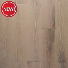 New! Prescott White Oak Wire-Brushed Engineered Hardwood