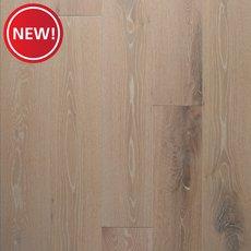 New! Prescott White Oak Wire-Brushed Engineered Hardwood