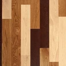 Bozeman White Oak Wire-Brushed Solid Hardwood