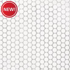 New! Penny White IV Porcelain Mosaic