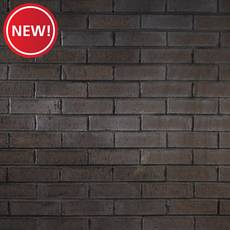 New! Carbon Black Thin Brick Flat