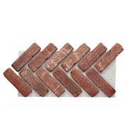 Boston Mill Thin Brick Herringbone Panel Ledger