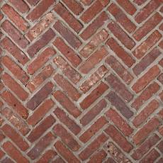 Boston Mill Thin Brick Herringbone Panel Ledger