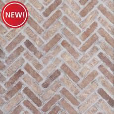 New! Rushmore Thin Brick Herringbone Panel Ledger