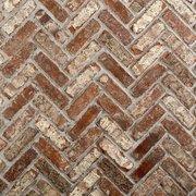 Castle Gate Thin Brick Herringbone Panel Ledger