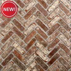 New! Castle Gate Thin Brick Herringbone Panel Ledger