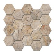 Bellmeade Hexagon Porcelain Mosaic