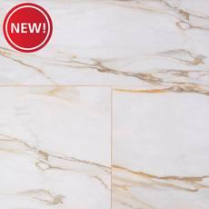 New! Caledonia Gold Polished Porcelain Tile