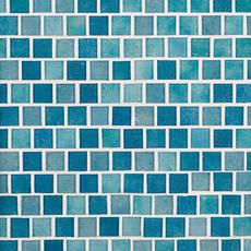 Cabo Azul 1 x 1 in. Square Glass Mosaic