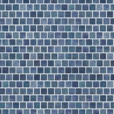Boca Blue 1 x 1 in. Square Glass Mosaic