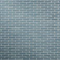 Maya Bay Platinum 1 x 4 in. Brick Glass Mosaic