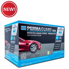 New! Permaguard Max Dark Gray 1 Car Garage Kit