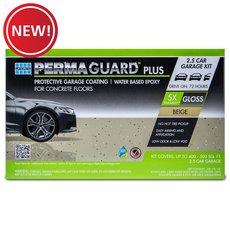 New! Permaguard Plus Beige 2.5 Car Garage Kit