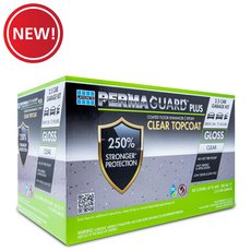 New! Permaguard Plus Clear Topcoat 2.5 Car Garage Kit