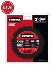 New! Sentinel 7 1/4in. 40T Cement Board Blade