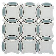 Shore Circulo II Porcelain Mosaic