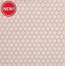 New! Bubblegum II Porcelain Penny Mosaic
