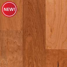 New! Cherry II Hand Scraped Engineered Hardwood