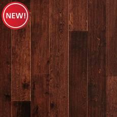 New! Espresso Birch Handscraped Engineered Hardwood