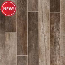 New! Clifton Brown Quick Lock Porcelain Tile