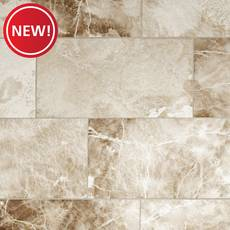 New! Crema Onyx II Polished Marble Tile