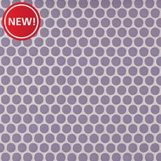 New! Lilac II Porcelain Penny Mosaic