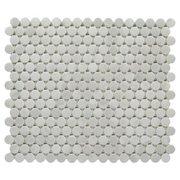 Industria Matte Ceramic Penny Mosaic