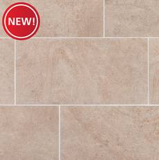 New! Brookline Sand Matte Quick Lock Porcelain Tile