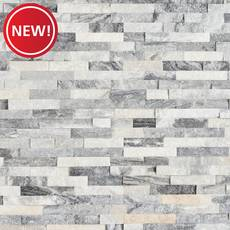 New! Harbor Gray Splitface Quartzite Panel
