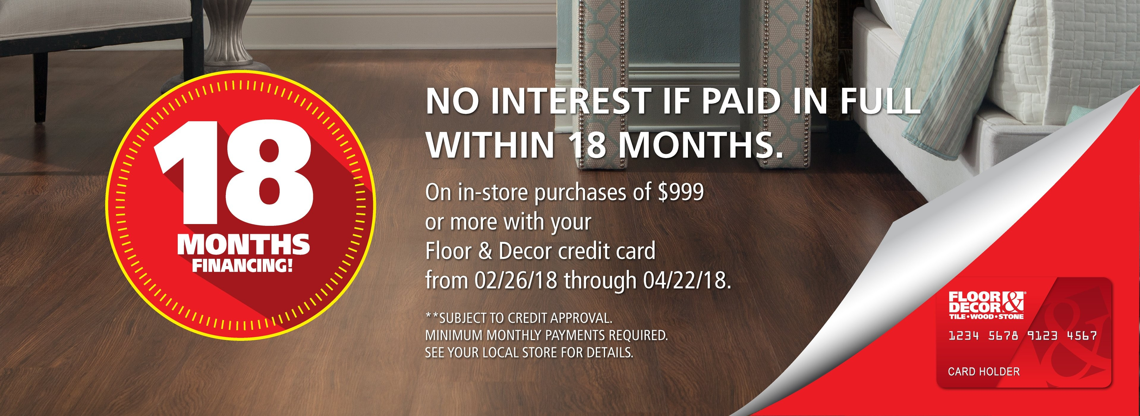 floor and decor credit card credit center floor decor 4178