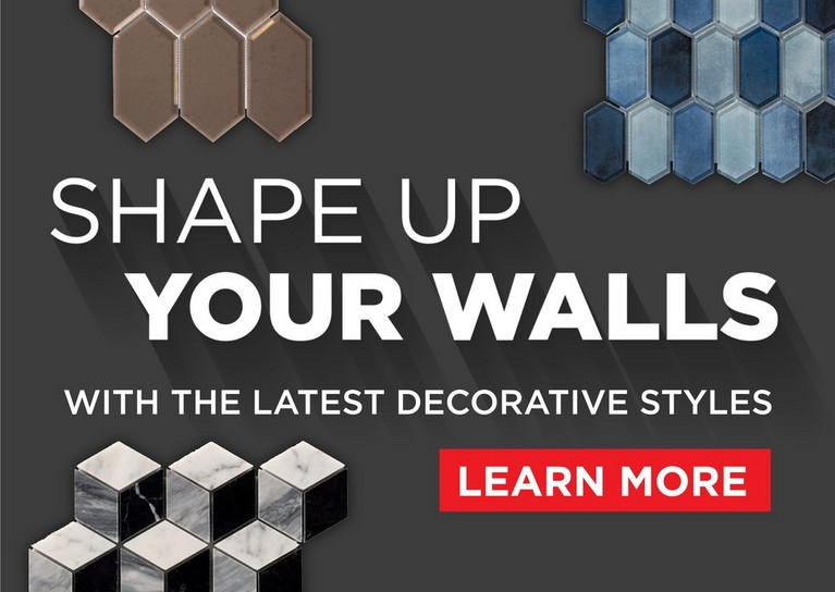 Shape Up Your Walls