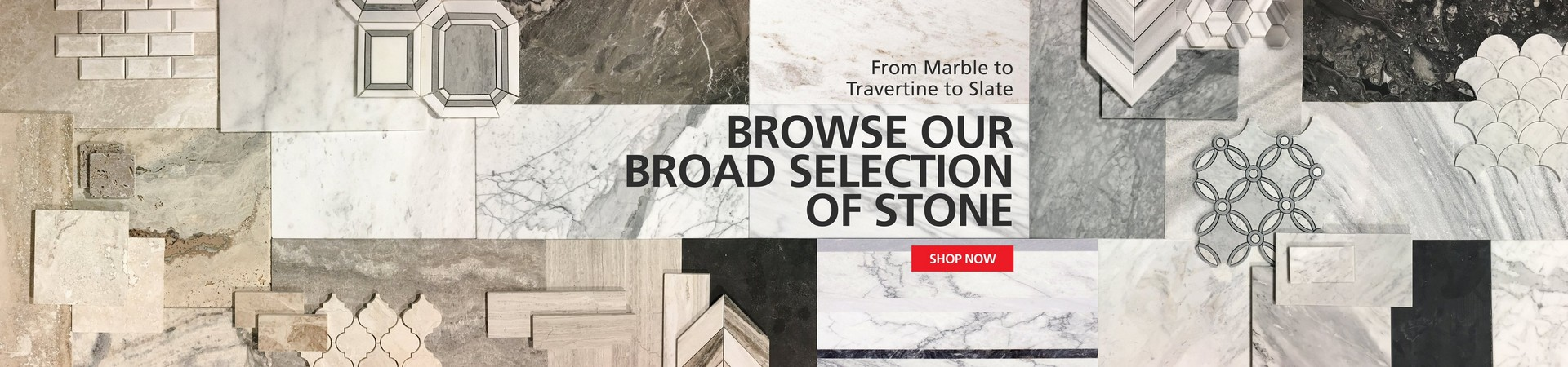 Over 400 Styles of Stone