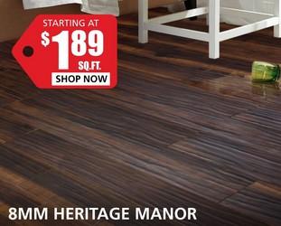 8MM Hertage Manor starting at $1.89 per square foot